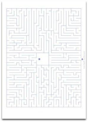 medium difficulty maze