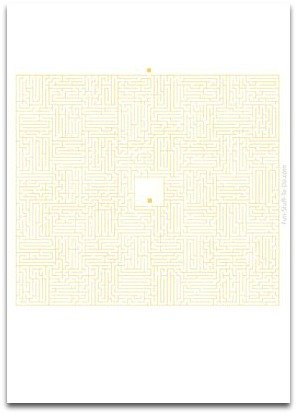 medium maze, simple mazes