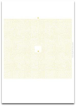 medium maze, simple mazes