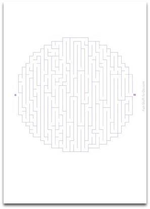 medium maze, easy maze