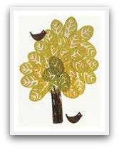fun potato stamp tree