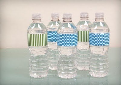 Water Bottle Label Template Free